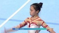 2019年 青运会 团体决赛 李皓圆 自由操