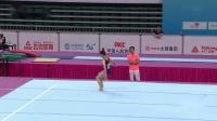 2019年 青运会 团体决赛 李亚楠 自由操