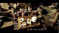 越界车会东区桥头喝茶聊天
