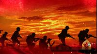 S1091 歌曲 《打靶归来》 军旅歌曲 LED节目晚会舞台背景视频素材