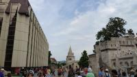 匈牙利布达佩斯鱼人堡、马加什教堂。