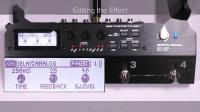 BOSS MS-3多功能效果切换控制器 快速入门 第二章: 音色编辑(效果设置)