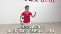 华柔柔力球【刘红】花式柔力球常用技术动作——八字绕环(一)