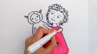 玛丽有一首小羊羔童谣歌词是给孩子们唱的