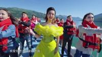 歌手于东尼与众人高歌《我爱你中国》,表达对祖国70华诞的深情祝福