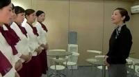 卢Fang老师车展礼仪培训片段参考