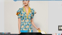 服装DIY服装CAD打版教程-碎花短袖包臀连衣裙打版教程3-4