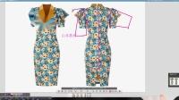 服装打版服装制版et教程-碎花短袖包臀连衣裙打版教程1-3
