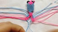 创意编织DIY, 教你绳编3D金鱼钥匙链的方法(步骤3-3)_高清