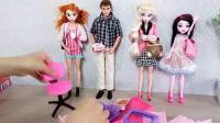 芭比玩具,芭比娃娃,芭比女王办公室