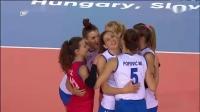 2019.09.01 塞尔维亚 vs 罗马尼亚 - 2019女排欧锦赛 1/8决赛