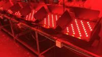 98台132颗3W影视LED天地排灯视频效果