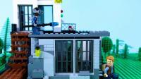乐高定格动画侏罗纪世界LEGO Jurassic World STOP MOTION LEGO Jurassic World_ T-Rex vs Dino