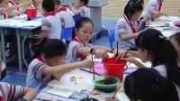 人教版五年級美術《鳥語花香》優秀課堂視頻