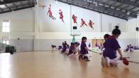 二年級體育《雙人對接地面反彈球游戲》優秀教學視頻