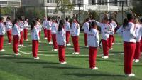 四年級體育《上步摟手馬步擊掌》骨干教師教學視頻