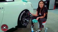 如何维护轮胎上的字母贴?