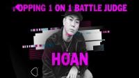 【BBIC 2019 Day-1】HOAN, SWEEPY, HUGO   POPPING 裁判秀