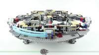 乐高75192 Millennium Falcon SHORT BUILD Star Wars LEGO积木砖家速拼