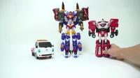 托宝V系列变形汽车越野车火车飞机变形机器人玩具