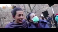 """肖战《诛仙》片场搂李沁脖子 不惧绯闻称其为""""沁姐"""""""