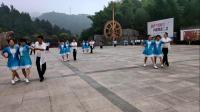 全球百城、千队、万人齐跳三步踩、创造吉尼斯世界纪录活动SBC安徽宁国分会场:万紫千红舞蹈团