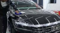 帕萨特前机盖贴隐形车衣专业技术讲解教程