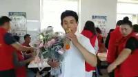 公主岭市志愿者献爱心慰问演出,郝立峰清唱京