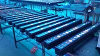 100台防水点阵18颗10W四合一LED洗墙灯