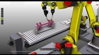 Arc Welding process with 2 FANUC robots