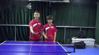 乒乓生活教学:前国手教你反手用力方向:挥拍方向与加速_高清