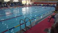 余杭区2019游泳比赛小学女子50米蛙泳第九组预赛