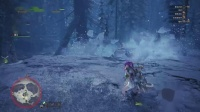 【空虚】PS4怪物猎人世界 冰原-滑步弓 冰鱼龙