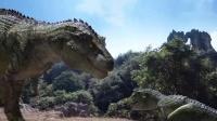 恐龙王:特暴龙怎么能让吃草的东西吓这样,看到你的反应,气死了
