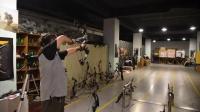 复合弓射箭练习