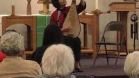 琵琶演奏家作曲家高虹根据观众现场给的标题而即兴创作《回忆》