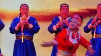 葫芦丝伴舞《草原》表演者;杨兆荣等