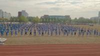 日照市岚山区巨峰镇初级中学2019年田径运动会体操表演《卡路里》