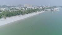 当今桂平航拍广西北海银滩带网民一起看看天下第一滩北海银滩视频