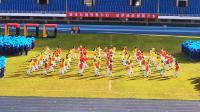 广渠门中学2019初一初二年级团体操