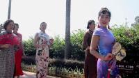 美丽人生旗袍时装舞蹈队在福州国家森林公园沐浴秋里、踏歌而行2019.10.20