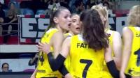 贝西克塔斯 vs 费内巴切 - 2019/2020土耳其女排联赛第2轮