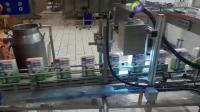 PTE标识视觉检测机乳品产线实拍