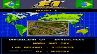 SFC SNES《F1一级方程式大奖赛》游戏演示(16207)F1 WORLD CHAMPIONSHIP EDITION