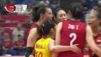 中国 vs 韩国 - 2019女排世界杯