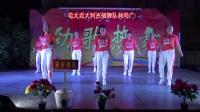 宋村舞队《谁》2019袂花古楼村老板进宅大吉大利广场舞文艺晚会11.14
