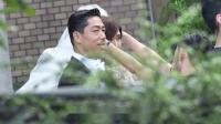 林志玲AKIRA婚礼彩排曝光,谁注意到他们的婚车,实在太气派了
