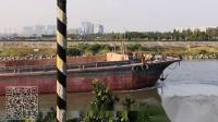 广州番禺紫泥河与佛山顺德陈村水道交界处