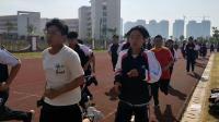 电气部百人800米团跑