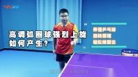 《全民学乒乓常识篇》第3集 高调弧圈球强烈上旋如何产生 弄懂乒乓球旋转原理, 轻松接回去